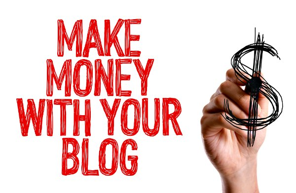 Make money from your blog. It is possible to make a living from blogging.