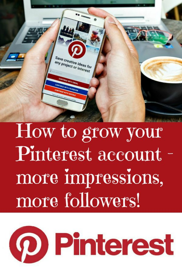 Pinterest account management services from the Wildernesswife.com