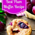 Best Plum Muffin Recipe, Plum Muffin, Plum Recipes