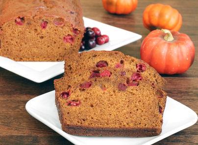 Pumpkin Bread Recipe, Cranberry Bread, How to puree a pumpkin, pumpkin puree recipe