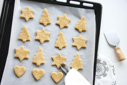 sugar cookies, cookies for santa, sugar cookie recipe, silpat liner
