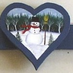 Free Snowman Craft Pattern Image