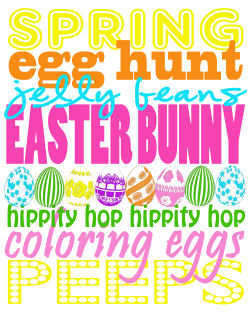 Free Easter Subway Art Printable from Tammy Mitchell Photography