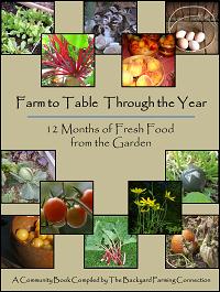 Free Gardening Ebook, Free Recipe Ebook, free cookbook