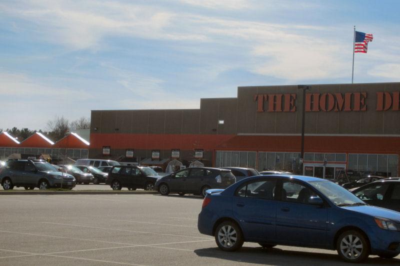 Home Depot, #Digit, Garden Center, Zipper Pathway