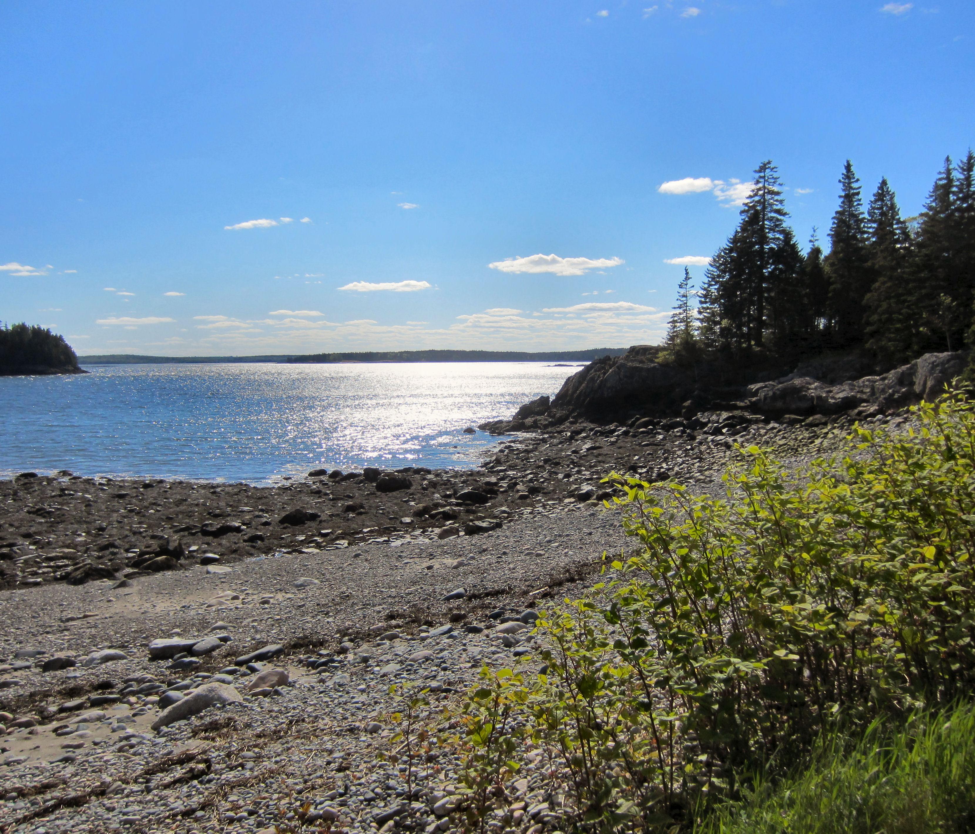Machias Maine, Ripley Point Maine, Downeast Maine, Maine Coast, Maine beach