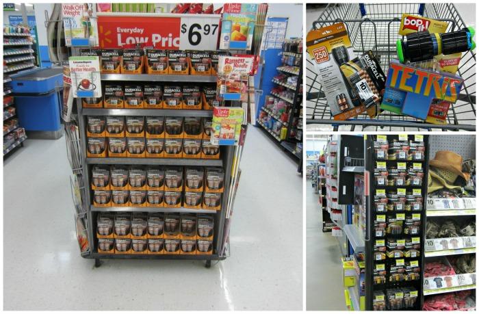 Walmart, Duracell,
