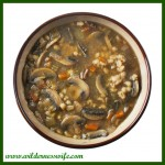 Crockpot soup recipe, Crock pot mushroom barley soup