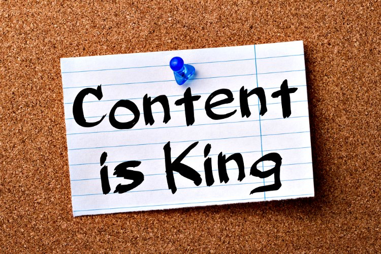 Learn how to blog and realize that content is king