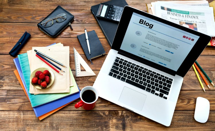 Learn how to blog with basic equipment such as your laptop, smartphone, tablet, and camera.