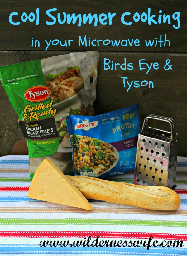 Summer microwave recipe, chicken microwave recipe