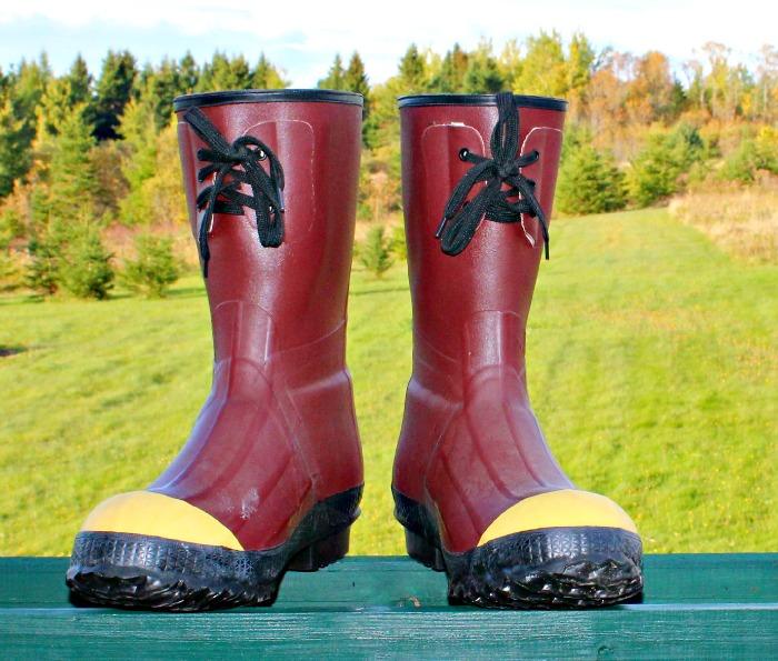 Halloween Post Boots