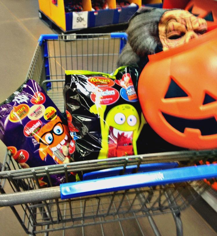 Hlloween-shopping-cart