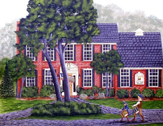 House portrait, anniversary gift, Mothers Day gift, Christmas gift