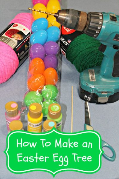 How to make an easy Easter Egg Tree