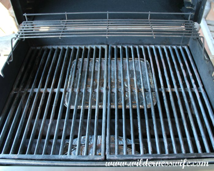 Grill grates are back in place and we are ready to cook some smoky barbecue pork back ribs.